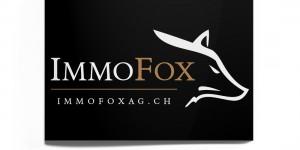 IMMOFOX AG Visitenkarten vorne