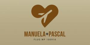Dankeskarte Manuela & Pascal