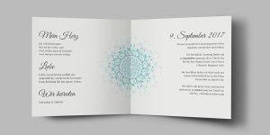 Einladungskarte Valentina & Alberto