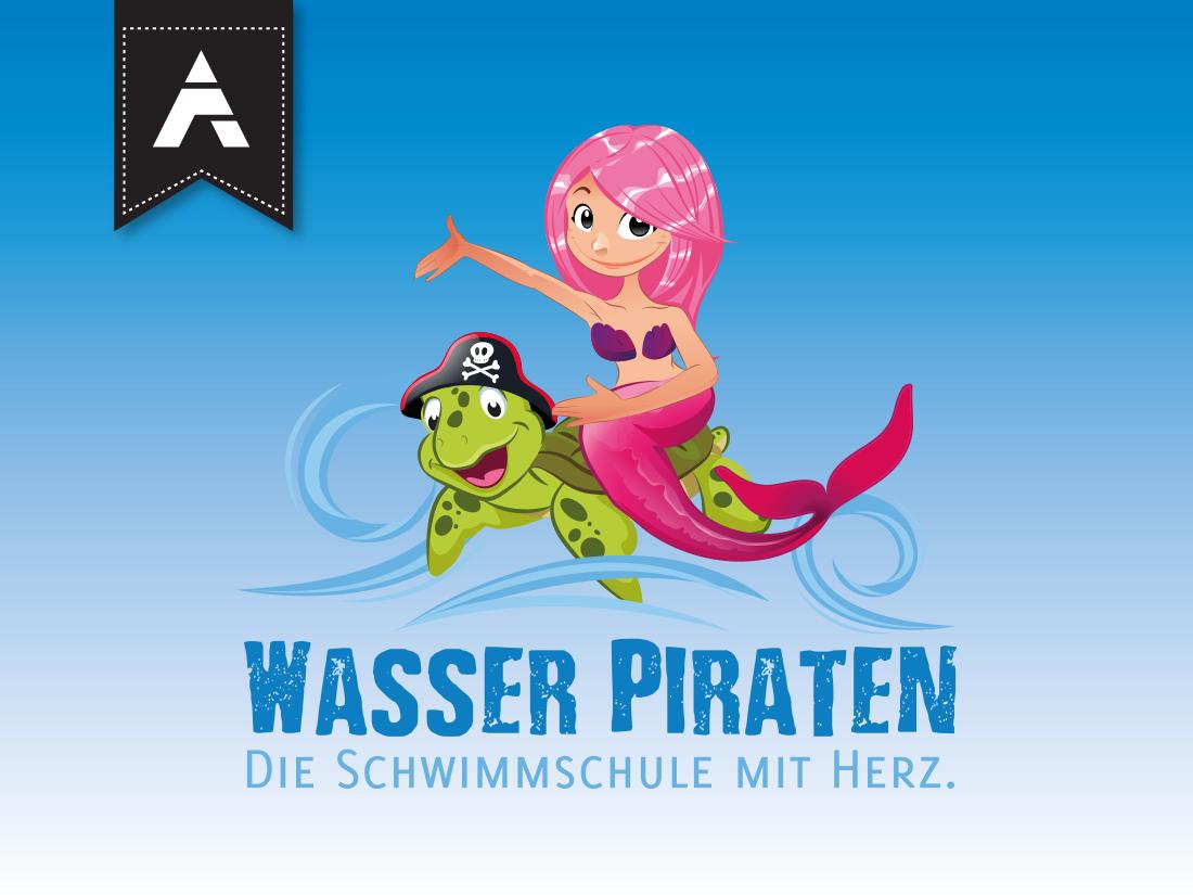Wasser Piraten Riff