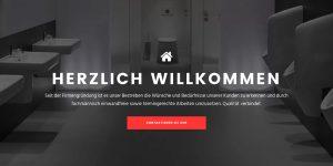 Webseite MB Service Haustechnik AG