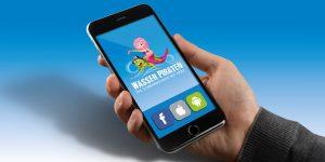 Smartphone App Home WASSER PIRATEN GMBH