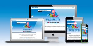 Webseite WASSER PIRATEN GMBH