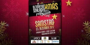 Flyer DIE ULTIMATIVE XMAS SCHLAGER PARTY - DAS ORIGINAL (23.12.2017)
