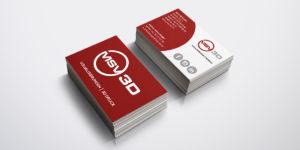 Visitenkarten MSV-3D GmbH