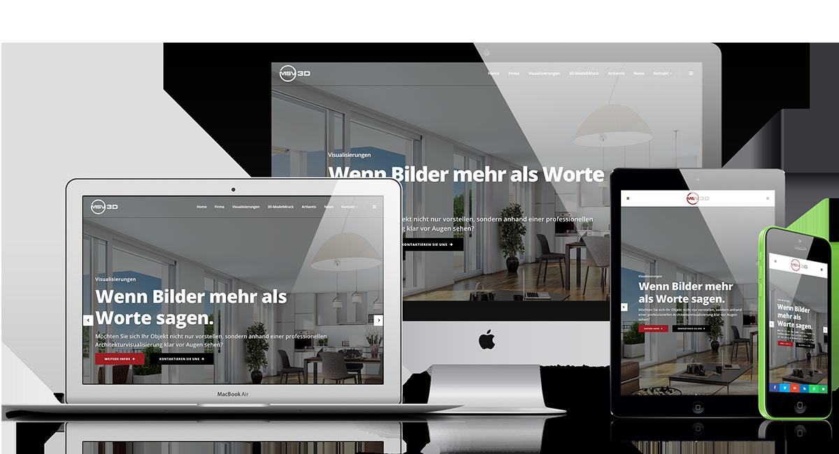 Webseite www.msv-3d.ch