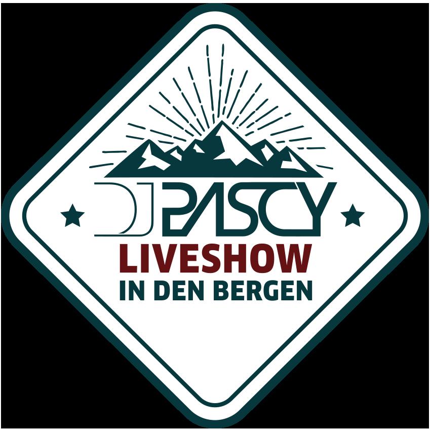 LOGO DJ PASCY LIVESHOW IN DEN BERGEN